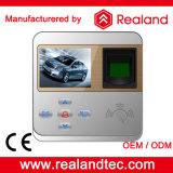 Cartão RFID Realand e impressão digital comparecimento do tempo / Sistema de Controle de Acesso