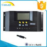 30A 12V/24VのPVシステムCm3024のための太陽充電器のコントローラか調整装置