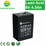 Безуходная батарея 6V 4.5ah перезаряжаемые