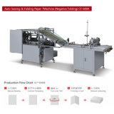 Máquina de cosido de pliegos semiautomática (económica) (CF-600A)