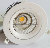 8 l'ÉPI blanc de pouce le plus neuf 60W DEL Downlight avec le découpage de 210mm