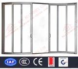Puertas deslizantes curvadas aluminio de lujo (BHA-DSA05)