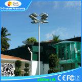 Tutti in uno/hanno integrato l'indicatore luminoso di via solare del LED con 5 anni di garanzia
