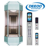 Elevador panorâmico Sightseeing personalizado do elevador de vidro do edifício elevado
