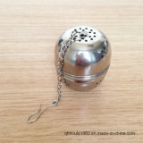 Filtro de la bola del acoplamiento de alambre del té del acero inoxidable del FDA Qpproved 304
