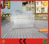 Rodillo inflable del PVC del rodillo inflable transparente del agua para la venta