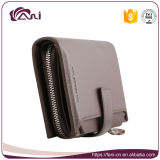 Новые бумажники конструкции, черный бумажник PU Brown кожаный Unisex с высоким качеством