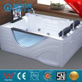 Acrílico blanco incorporado en la bañera (BT-G2001)