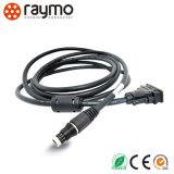 Militärverbinder-kompatible Kabel-Draht-Verdrahtung qualitäts 1031 A019 130+ 19 Pin-Fischeres