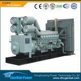 Generatore di potere stabilito di generazione diesel dei generatori elettrici di raffreddamento ad acqua Genset
