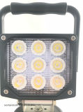 Portable recarregável 27W COB Chip LED Spot Worklight
