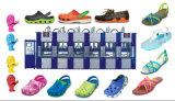 自動1つはエヴァの靴のCrocsのスリッパの射出成形機械を着色する