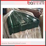 Strato rivestito del tetto dello zinco rivestito ondulato di colore da vendere