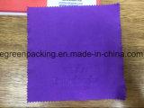 Пурпуровые Eyeglasses/ткань чистки солнечных очков с логосом