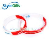 Zoll stellen Silikon-Wristband/Armband zu Fabrik-Preis her