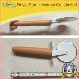 Cortador da pizza do aço inoxidável da ferramenta da cozinha/faca por atacado da pizza (RYST0133C)