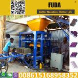 Máquinas Semi automáticas do fabricante de tijolo Qt4-24