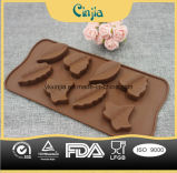 Torta del silicón de las dimensiones de una variable del botón, Molde De Silicone, torta Bakeware de la pasta de azúcar