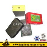 Tampón para pulir de la mano Electroplated del diamante