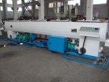 Tubo del HDPE que hace la máquina para los tubos del abastecimiento de agua