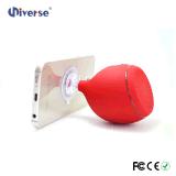 Altavoz impermeable de Bluetooth de la ducha con el altavoz flotante ligero del soporte del LED