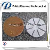 almofada de polonês concreta transitória híbrida do assoalho da resina do metal de 3 '' 80mm