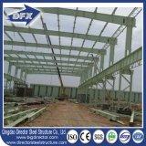 倉庫の軽い鉄骨構造のプレハブかプレハブの建築材料