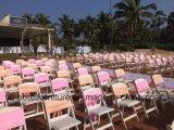 결혼식 (YC-P50-01)를 위한 백색 Foldable 검투사 의자