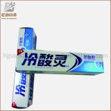 Cadre de papier fait sur commande pour la pâte dentifrice empaquetant et empaquetage de cadre de pâte dentifrice et impression de cadre de pâte dentifrice