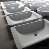 新しいモデルの人工的な大理石のカウンタートップの石の洗面器