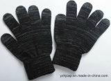 Цветастые перчатки жаккарда экрана касания связали перчатки касания перчаток акриловые