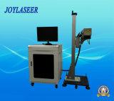 Machine automatique d'inscription de laser de vol pour le matériau non métallique
