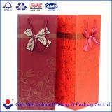 Sacchetto stampabile di lusso della carta patinata per il contenitore impaccante di vino