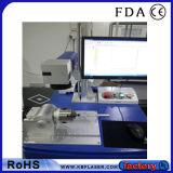 Macchina economica della marcatura dell'indicatore del laser della fibra della Tabella di CNC per gli acciai inossidabili, metalli, ABS, plastica
