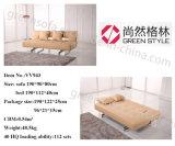 優美ファブリックソファーベッドのソファーの眠る人のホーム家具の布団の居間の家具
