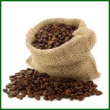 Drawstring-Jutefaser-Sack für Kaffeebohne
