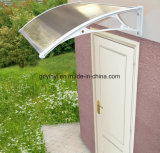 Écran en plastique blanc de porte d'euro de modèle polycarbonate populaire de modèle (YY700-M)