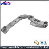 Metal feito sob encomenda que processa as peças de alumínio fazendo à máquina do CNC para sensores