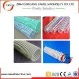 Linha reforçada fio da extrusão da tubulação de mangueira do PVC Stee