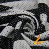 Tissu élastique tricoté de Lycra de Spandex de polyester pour la forme physique de vêtements de sport (LTT-YLZJT5#)