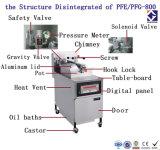 Pfe-800 Churro Maschine und Bratpfanne/Gas-tiefe Bratpfanne