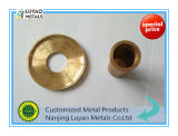 CNC OEM подвергая механической обработке с латунью/медью