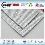 Feuille adhésive pure d'isolation de mousse du papier d'aluminium EPE