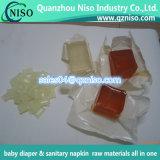 Neue Form der heißen Schmelzkleber für Baby-Windeln/gesundheitliche Servietten
