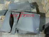 鉄鋼の送り装置シュートの摩耗の保護のためのバイメタルの白い鉄の摩耗の版