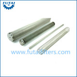 Tubo filtrante inoxidable sinterizado para el filamento y Texturing