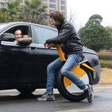 Aleación de aluminio inteligente eléctrica balanceando una motocicleta de la rueda