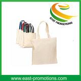 Logotipo do tipo da sagacidade do saco de compra do algodão da alta qualidade