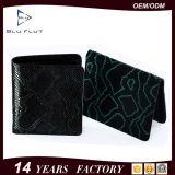 نمو عادة تصميم أصليّة جلد بقر جلد [كرد هولدر] رجال محفظة