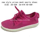 Novo chegam as sapatas unisex dos esportes da injeção do engranzamento do verão (DL161225)